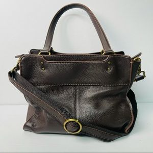 The Sak alameda leather crossbody bag brown